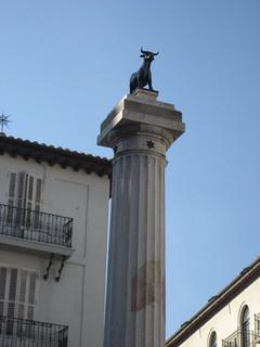 El torico, en la plaza de este nombre.