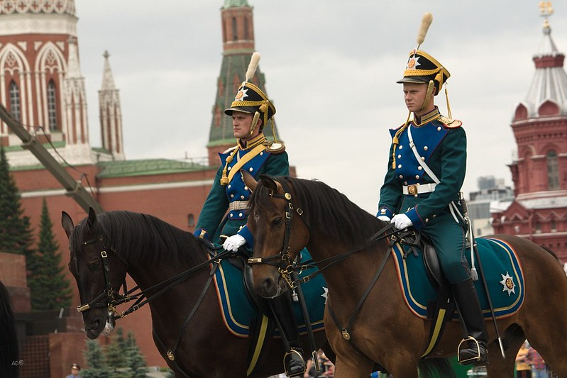 Церемониал на Красной площади