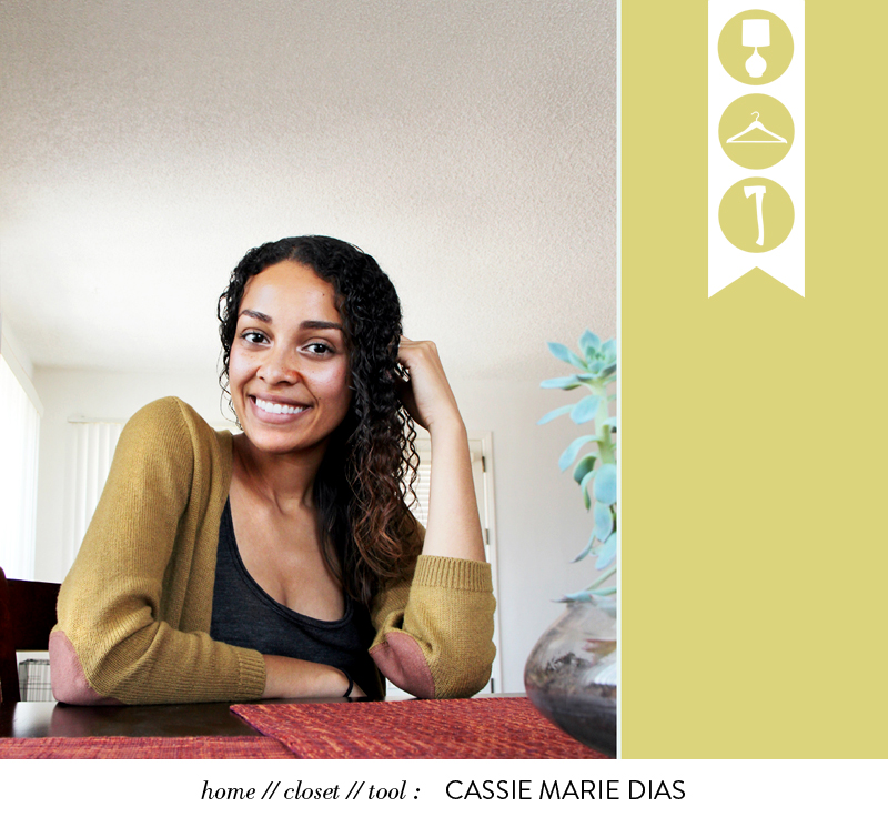 Glass and Sable Home Closet Tool Cassie Dias Moon Face portrait