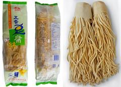 Shredded Tofu, Tofu noodles