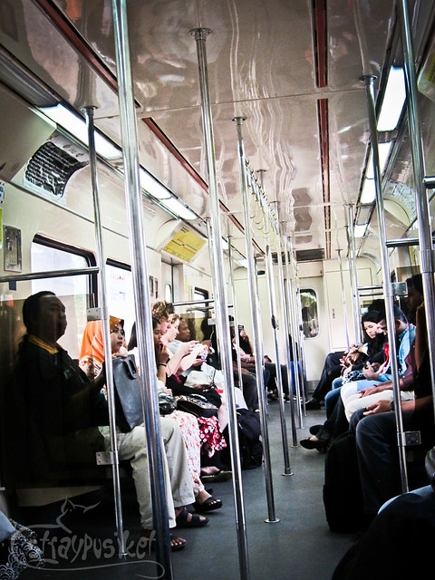Inside the KTM Komuter