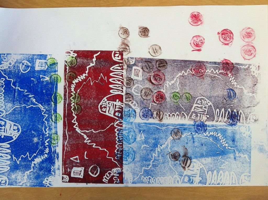 Money Printing & Coin Rubbing Project - 2nd Grade | Melanie