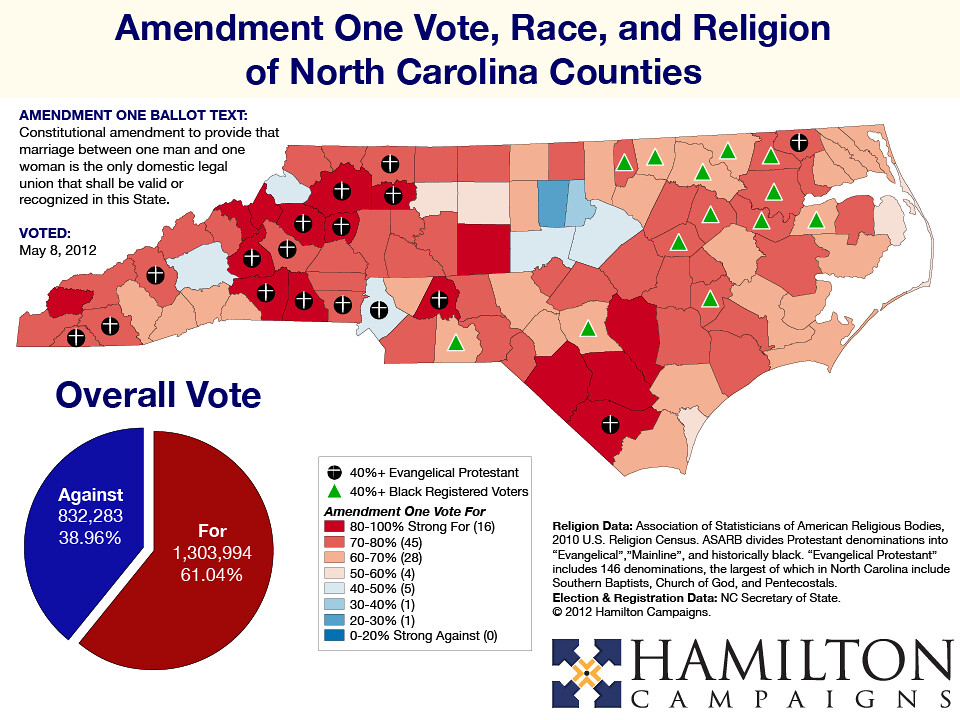 North Carolina's Amendment One – Kenton Ngo's Political Geography