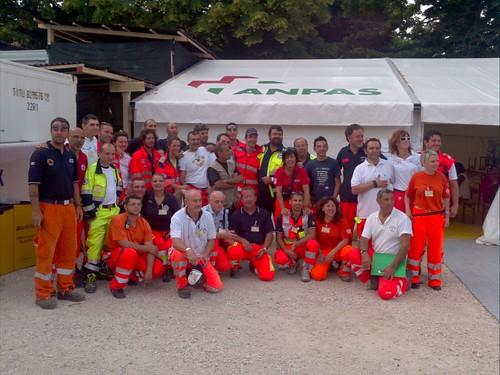 Il 3° gruppo di volontari del Campo Costa