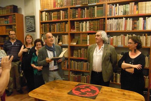 Inauguración Libreria Laberinto en Ronda de Isasa.