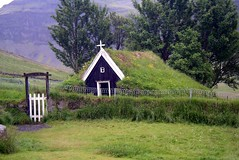 The oldest church in Iceland