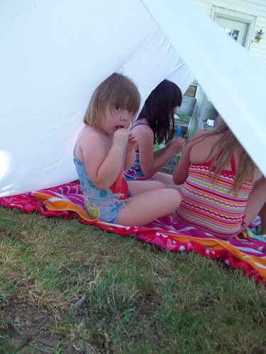 Popsicles in the tent