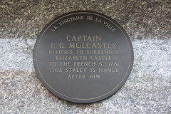 Photo of F. G. Mulcaster grey plaque
