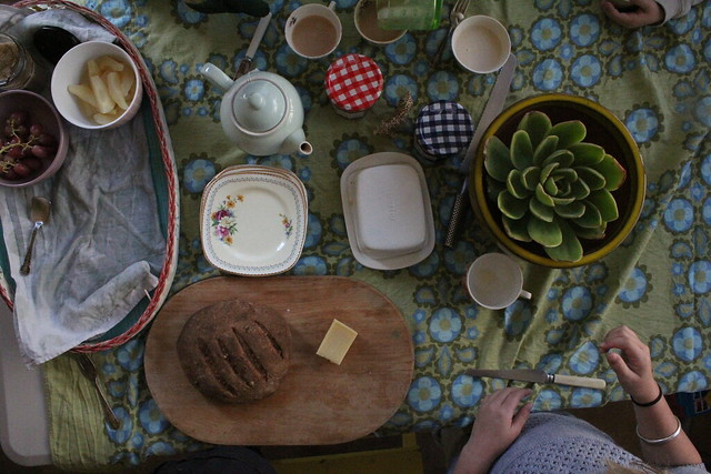 morning tea - the spread