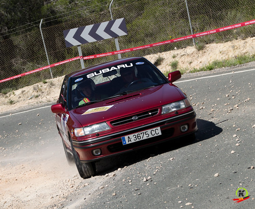 José Roca y José Luis Sanchis. Rallye Go Karts Orihuela Costa.