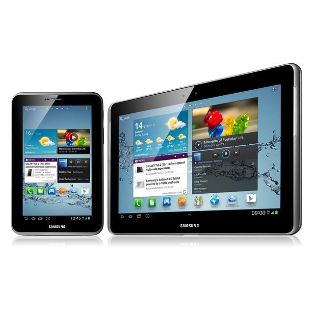 Samsung Galaxy Tab 2 (7.0) 3G & (10.1)