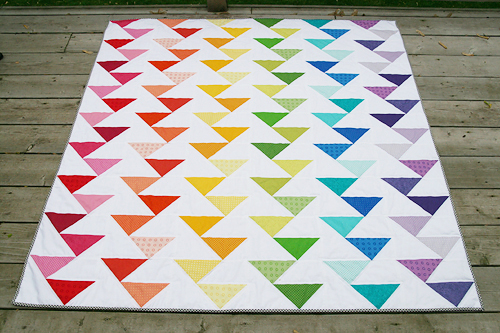 Modern Quilts Unlimited ~ Cutting Edge Quilt Pattern — Fresh
