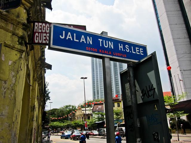 Jalan Tun HS Lee