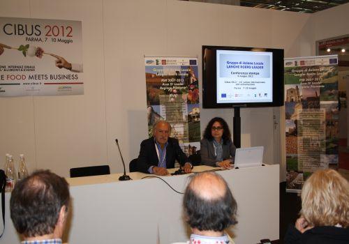 Conferenza stampa a Cibus