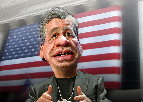 Jamie Dimon - Caricature