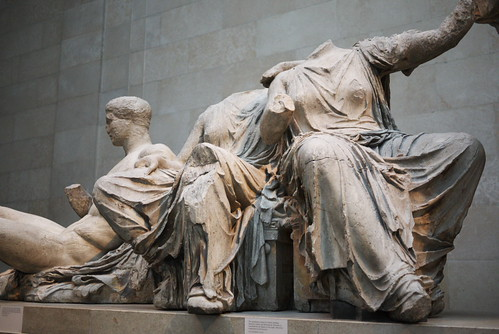 Parthenon Sculptures by Rollofunk