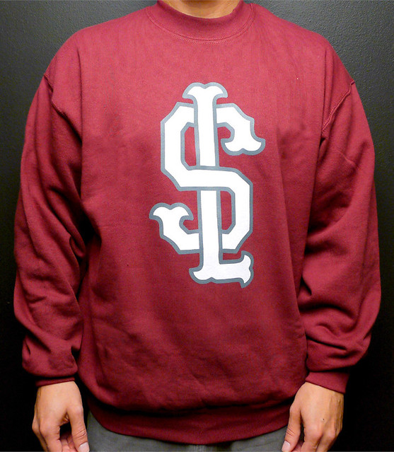 SHELFLIFE SWEATER BURGUNDY