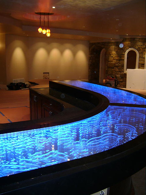 unique bar tops