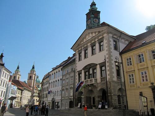 old town Ljubljana