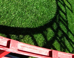 shrub(0.0), flower(0.0), soil(0.0), hedge(0.0), flooring(0.0), leaf(1.0), grass(1.0), artificial turf(1.0), green(1.0), lawn(1.0),