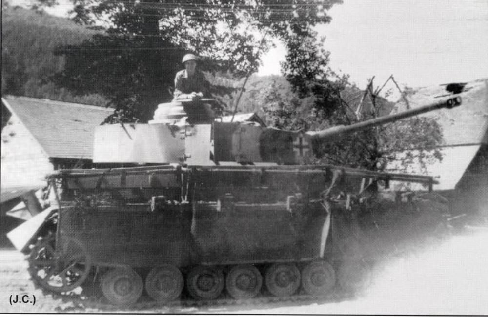 Panzerkampfwagen IV Ausf. J mit Thoma Schürzen (Sd.Kfz. 161/2)