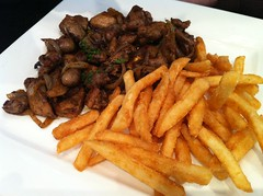 meal, junk food, fried food, side dish, meat, french fries, food, dish, cuisine, fast food,
