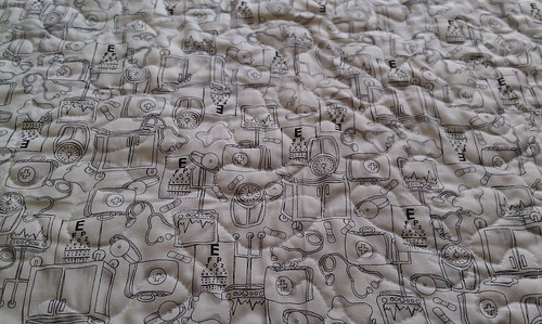 Baby quilts: #2 backing