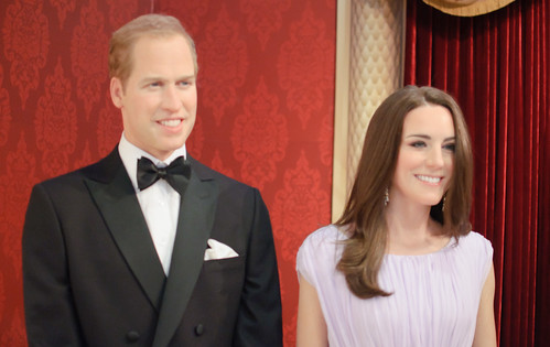 William and Kate at Madame Tussaud's New York