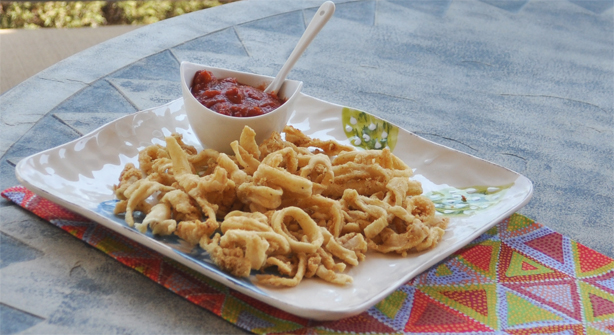 Fried Squid