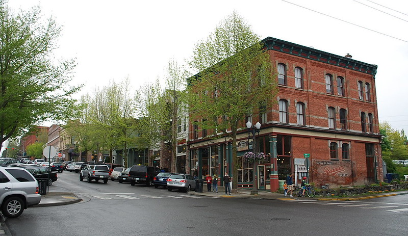 Streetscepe, Bellingham WA's Fairhaven District