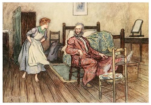 017-Comienza la tormenta-Irish ways-1909-ilustraciones de Warwick Goble
