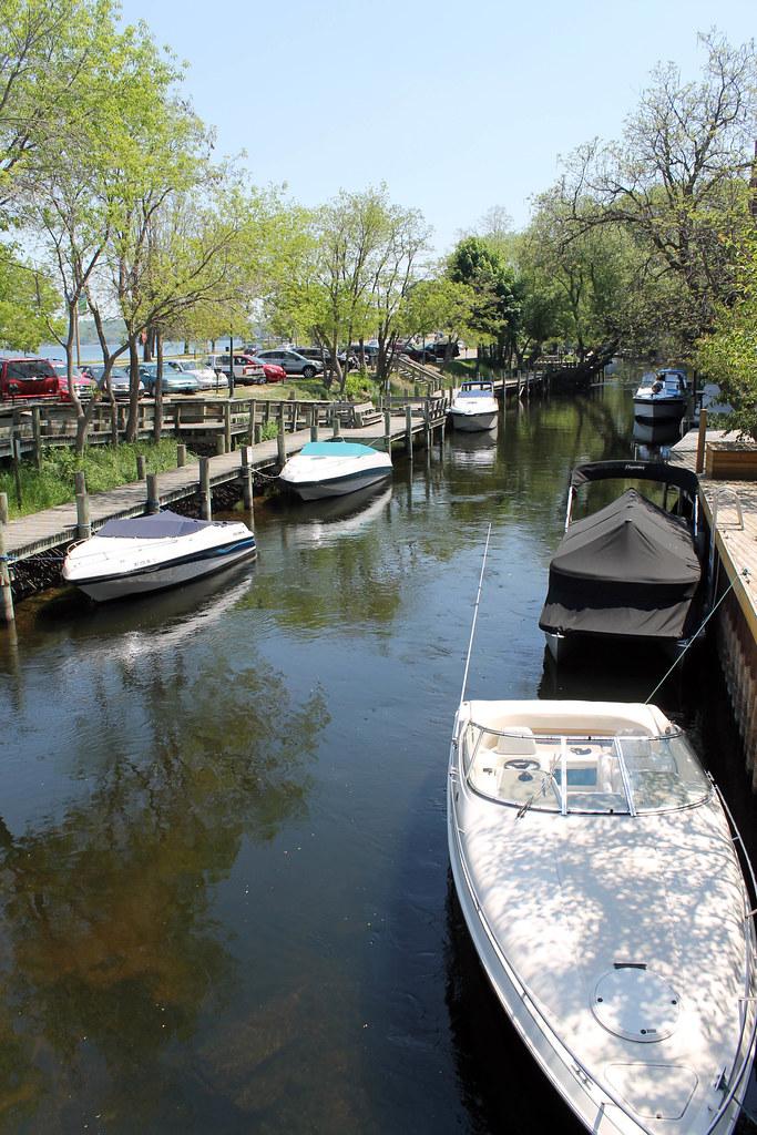 Traverse City, Michigan - Wading in Big Shoes