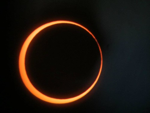 Eclipse ending ring of fire