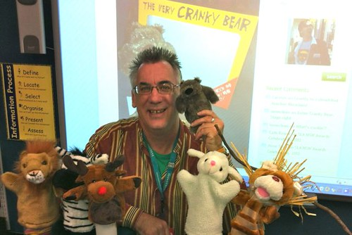 NSS Ian and puppets
