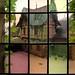 Window peek at the courtyard of Castle Cochem