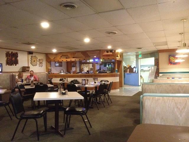 Disgusting Restaurant Ceiling