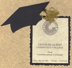 First Commencement Ceremony, CGCC