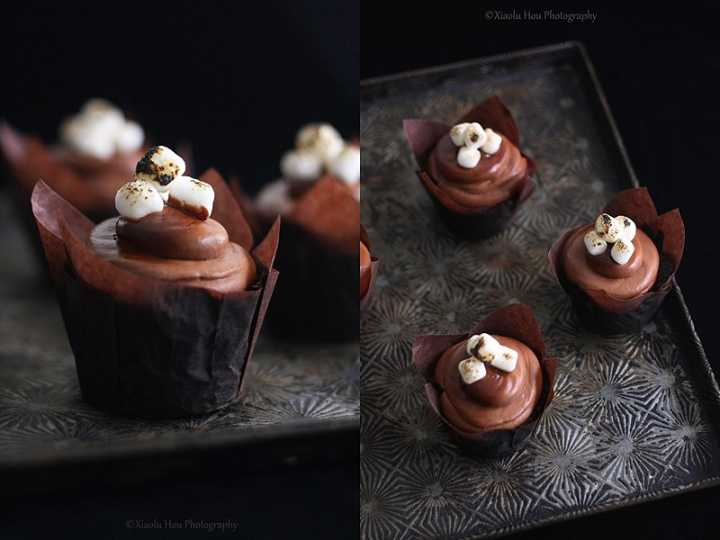 ... Sherlockian Cupcakes Part 2: Chocolate Toasted Marshmallow Cupcakes