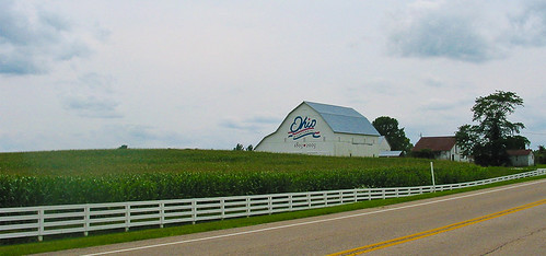 Ohio Barn painted for the Bi-centennial