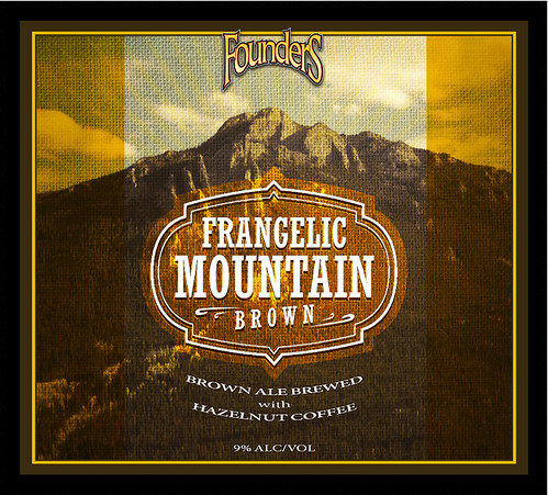 Founders Brewing Co Frangelic Mountain Brown