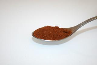 07 - Zutat Paprikapulver / Ingredient paprika