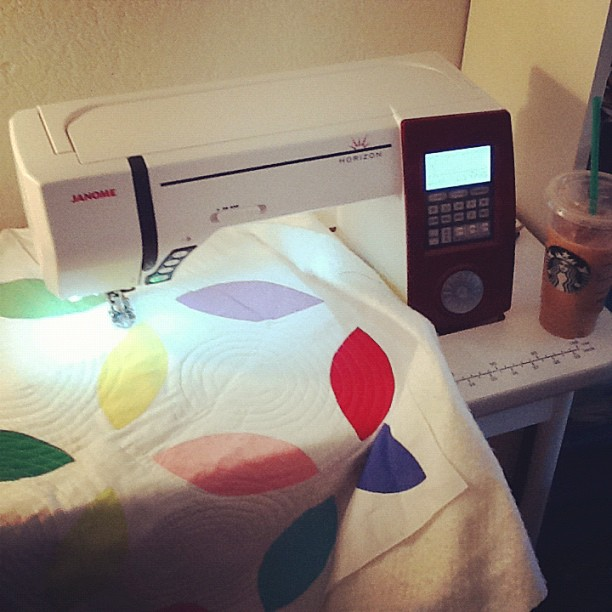 Quilting is happening at my house!
