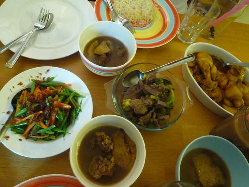 Malaysian Meal by rachlyf