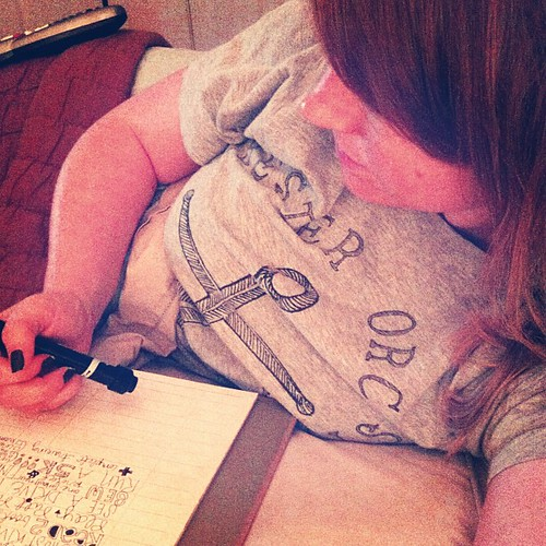 """Watching the bachelorette + journaling my """"summer manifesto""""  goodnight!"""