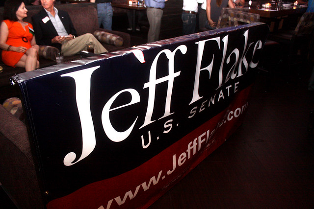 Jeff Flake sign