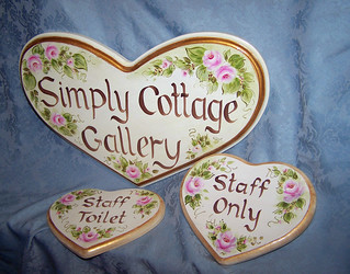 Country Style Cottage Signs