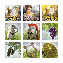 free Pandora's Box slot game symbols