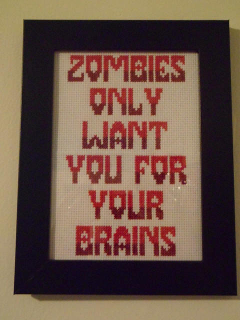 Zombies only want you for your brains