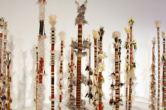 Aboriginal staffs