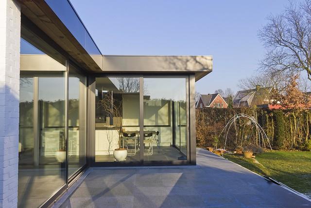 Keuken Aluminium Plaat : Aluminium woonveranda modern, uitbouw keuken, woonveranda Flickr